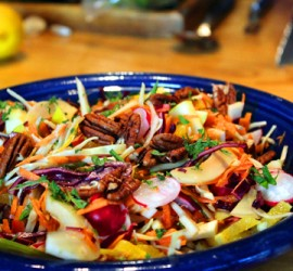 colourful cabbage salad