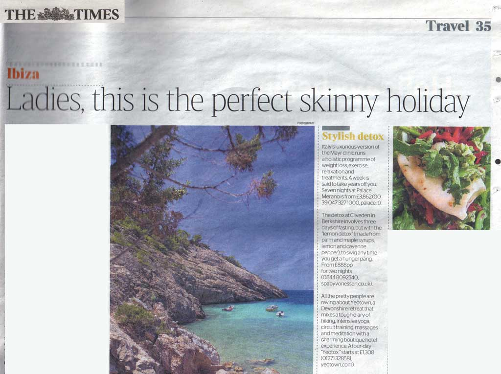 Skinny Holiday Article