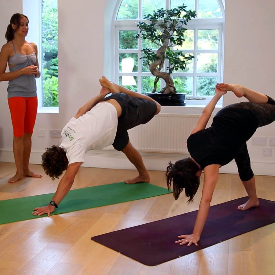Core Crow Yoga Flow Class With Mercedes Yeotown Retreat