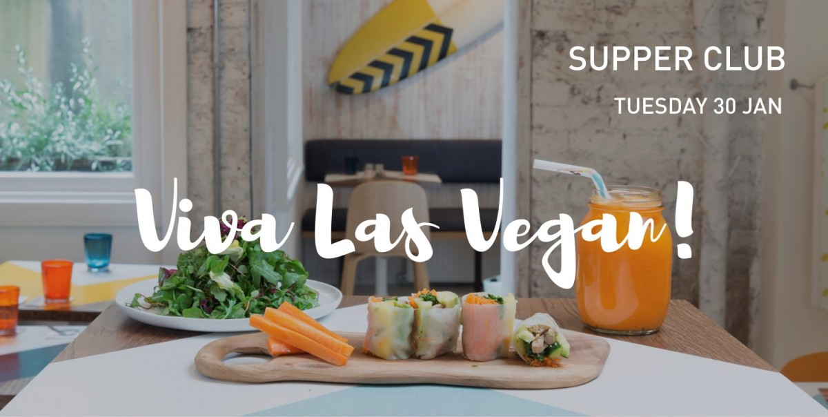Viva Las Vegan Supper Club Slider