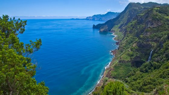 Madeira Coastline- A beautiful archipelago Bursting with nature, life and love.